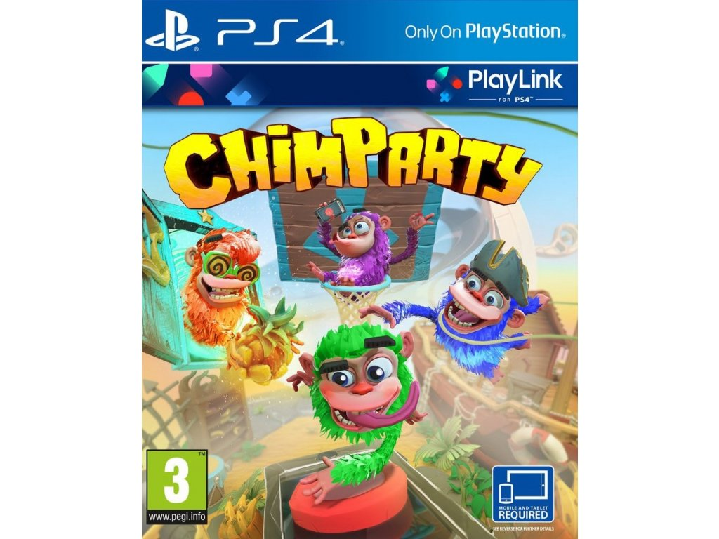 PS4 Chimparty