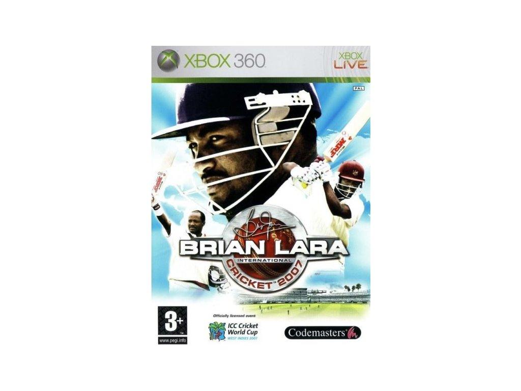 X360 Brian Lara International Cricket 2007