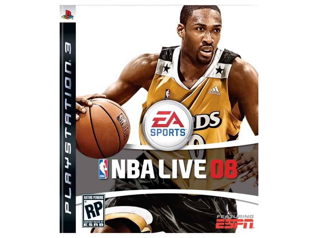 PS3 NBA Live 08