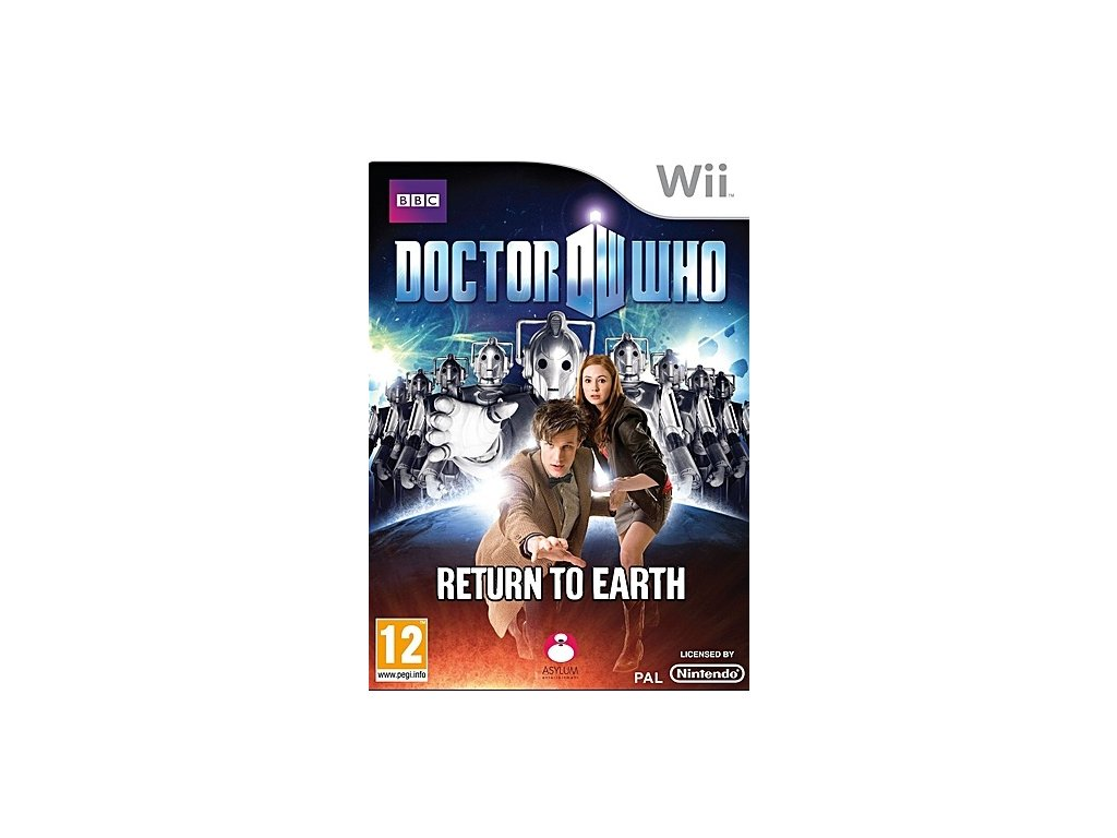 Wii Doctor Who Return to Earth
