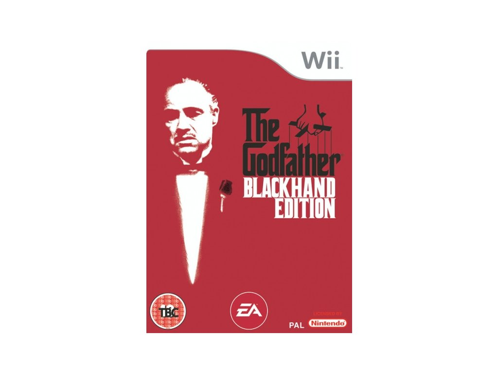 Wii The Godfather Blackhand Edition