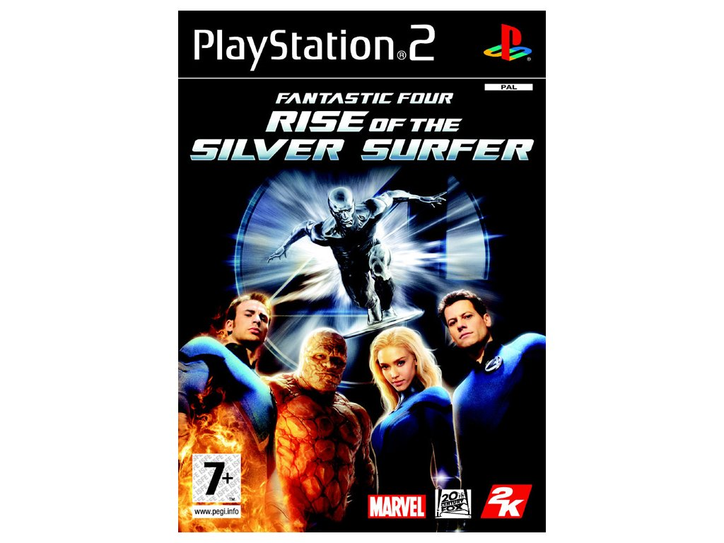 PS2 Fantastic Four Rise of the Silver Surfer