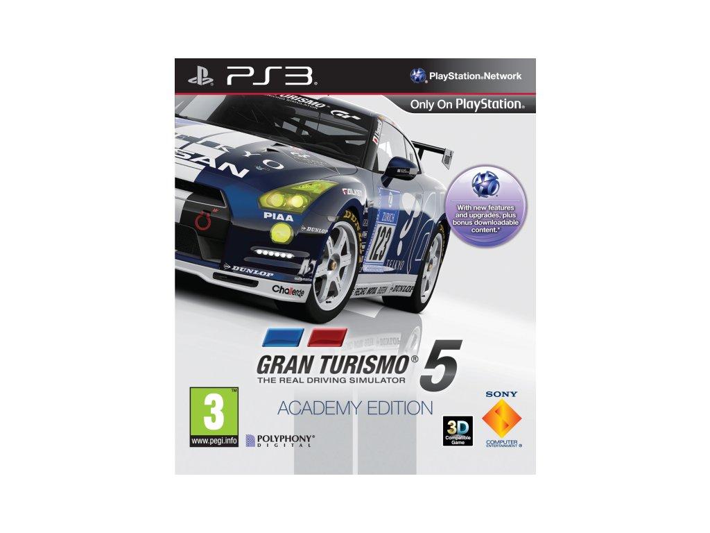PS3 Gran Turismo 5 Academy Edition