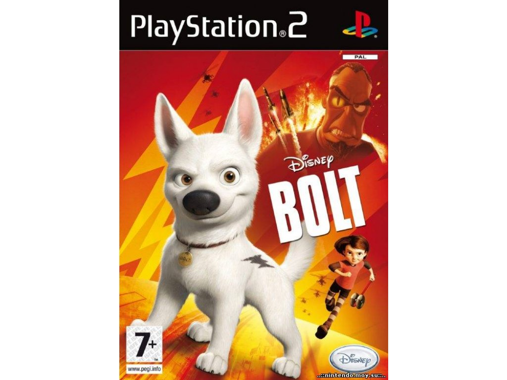 PS2 Disney Bolt