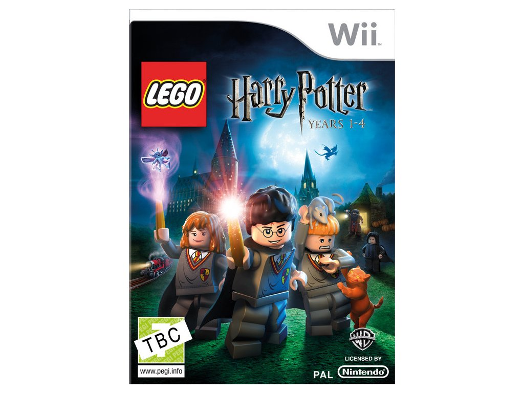 Wii LEGO Harry Potter Years 1-4