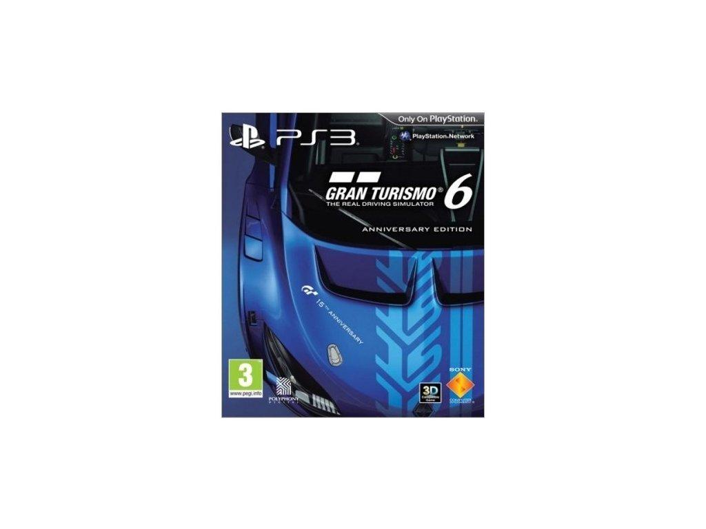 PS3 Gran Turismo 6 Anniversary Edition Steelbook