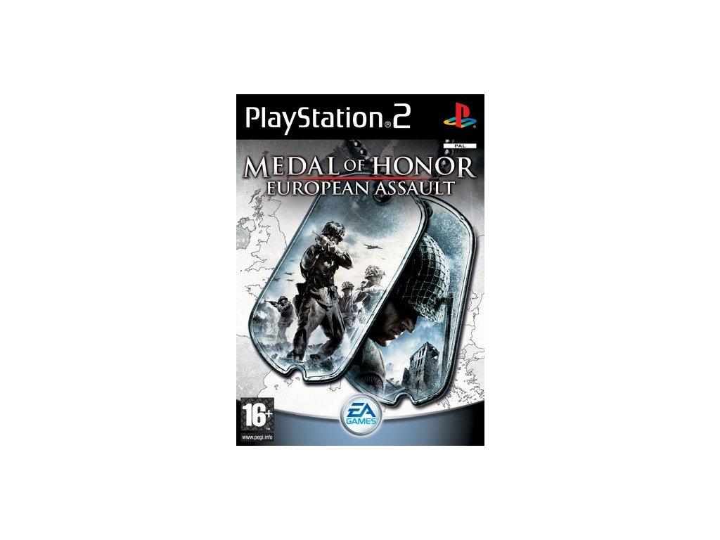 PS2 Medal of Honor European Assault