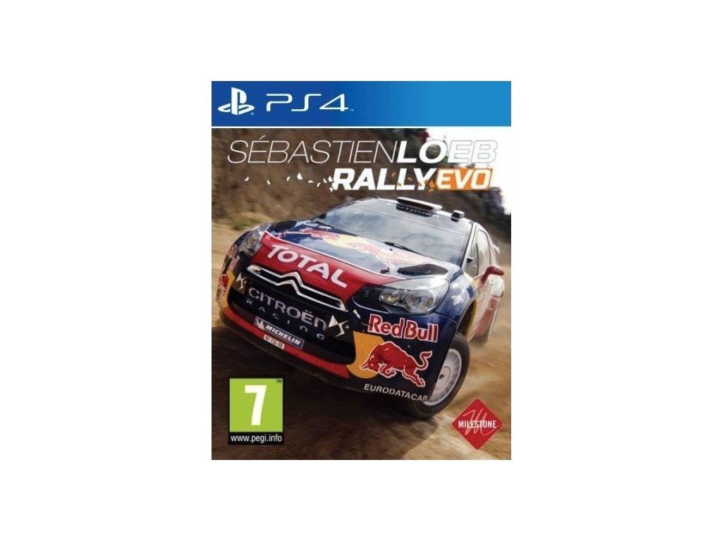 PS4 Sébastien Loeb Rally Evo