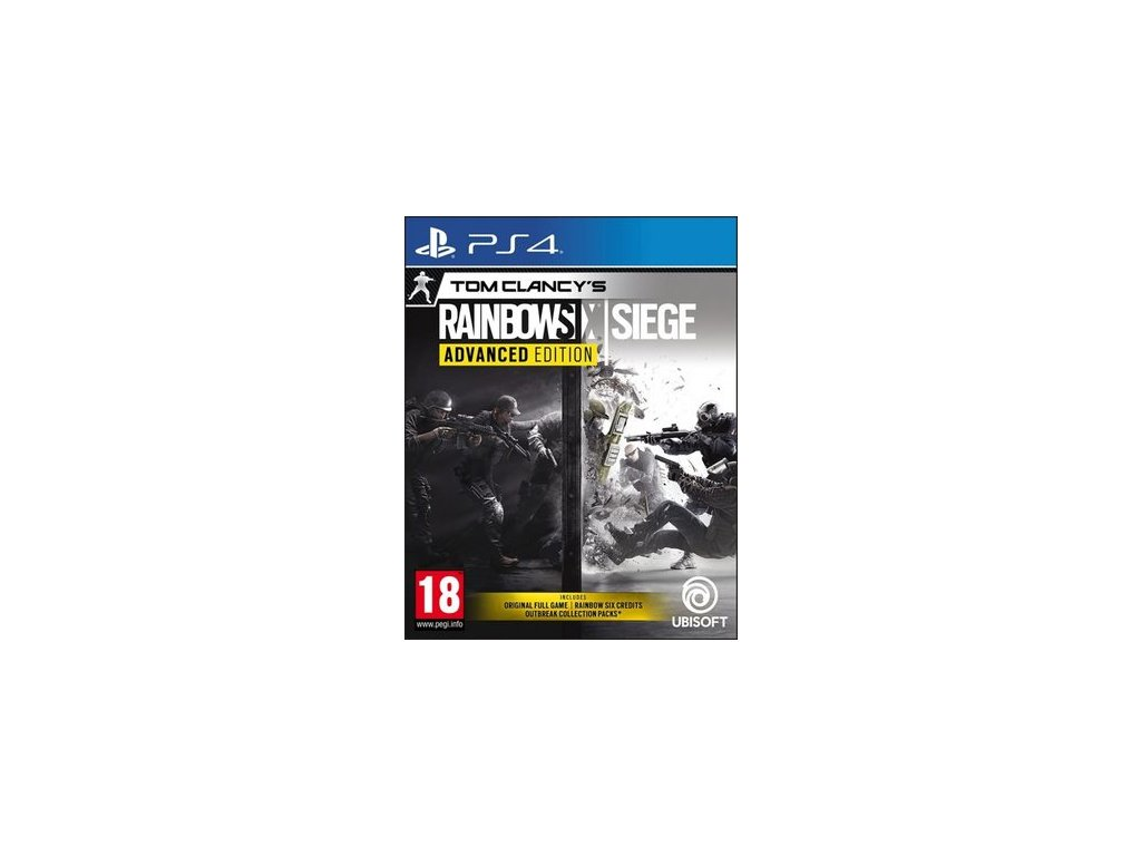 PS4 Tom Clancys Rainbow Six Siege Advanced Edition