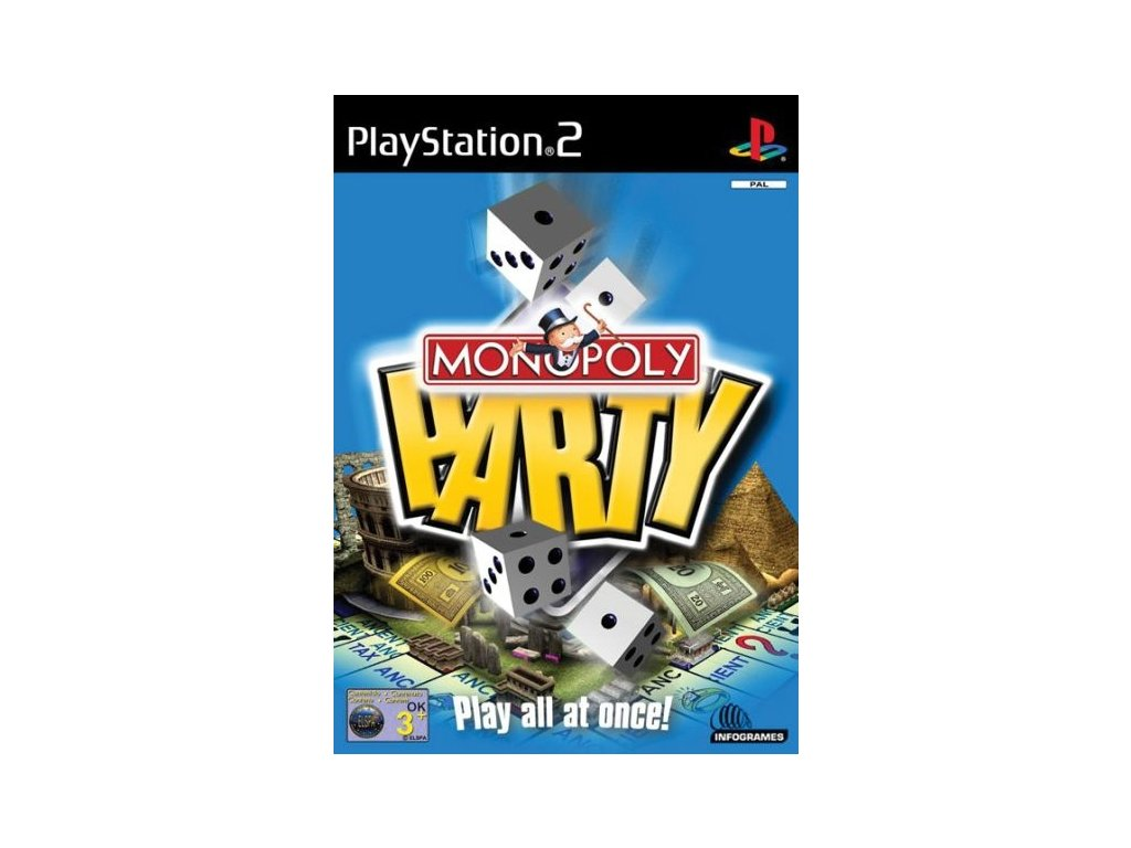 PS2 Monopoly Party