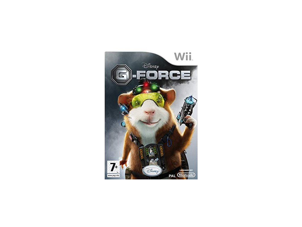 Wii Disney G-Force