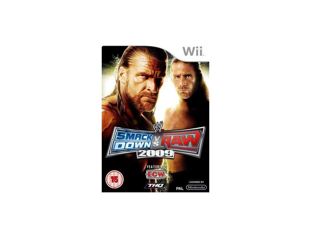 Wii WWE Smackdown vs Raw 2009