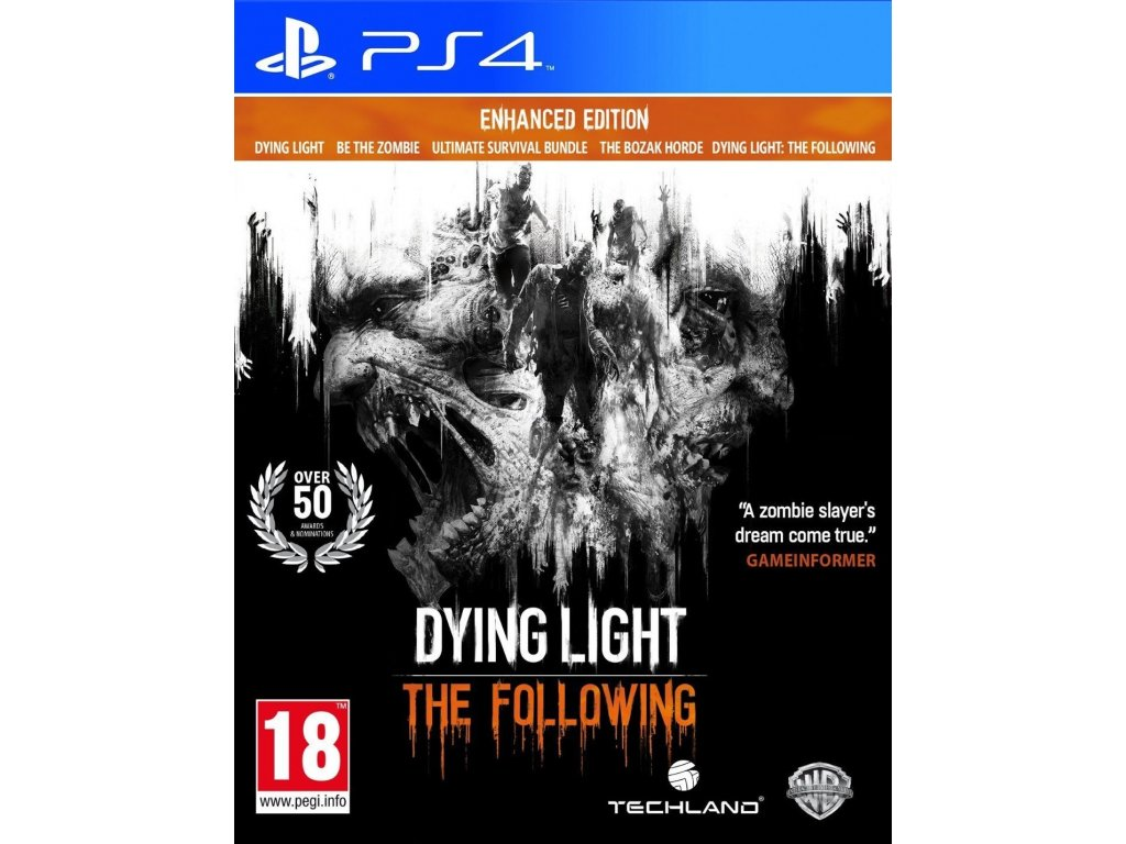 PS4 Dying Light The Following Enhanced Edition