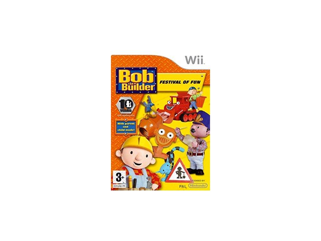 Wii Bob the Builder Festival of Fun (Bořek stavitel)
