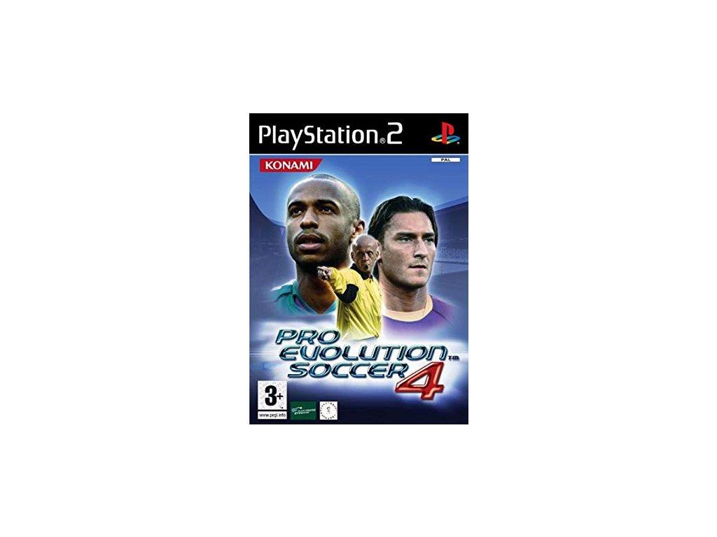 PS2 Pro Evolution Soccer 4