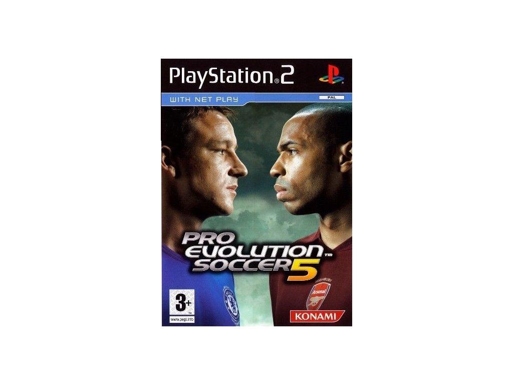 PS2 Pro Evolution Soccer 5