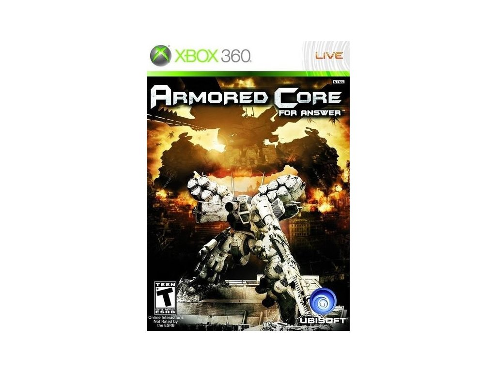 X360 Armored Core 4 Answers