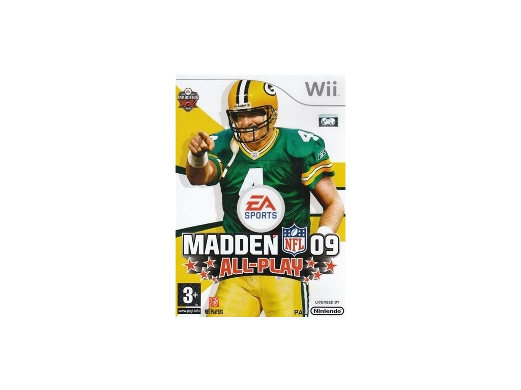Wii Madden NFL 09 All Play