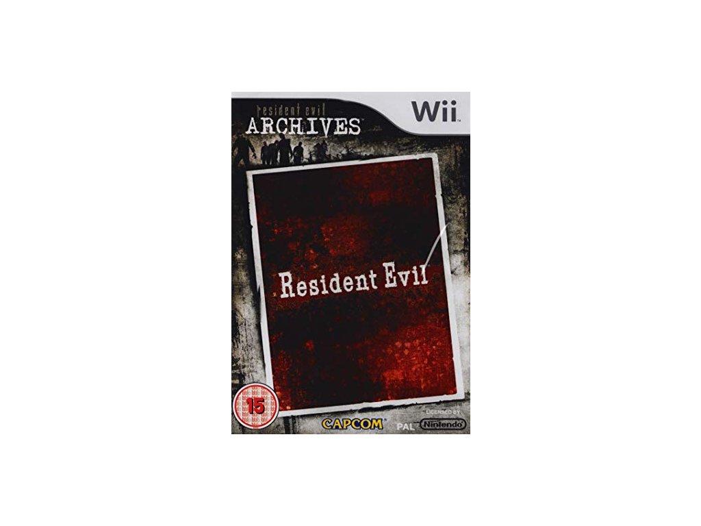 Wii Resident Evil Resident Evil Archives
