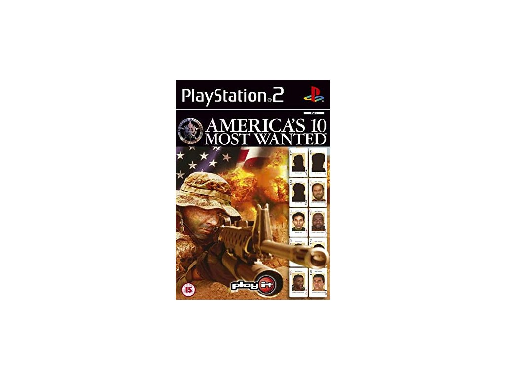PS2 Americas 10 Most Wanted