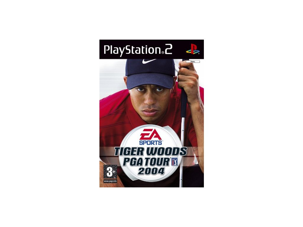 PS2 Tiger Woods PGA Tour 2004