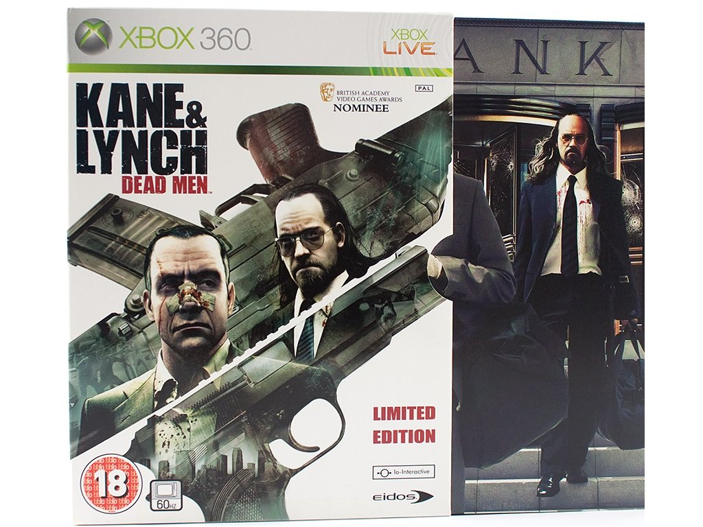 X360 Kane and Lynch Dead Men Limited Edition