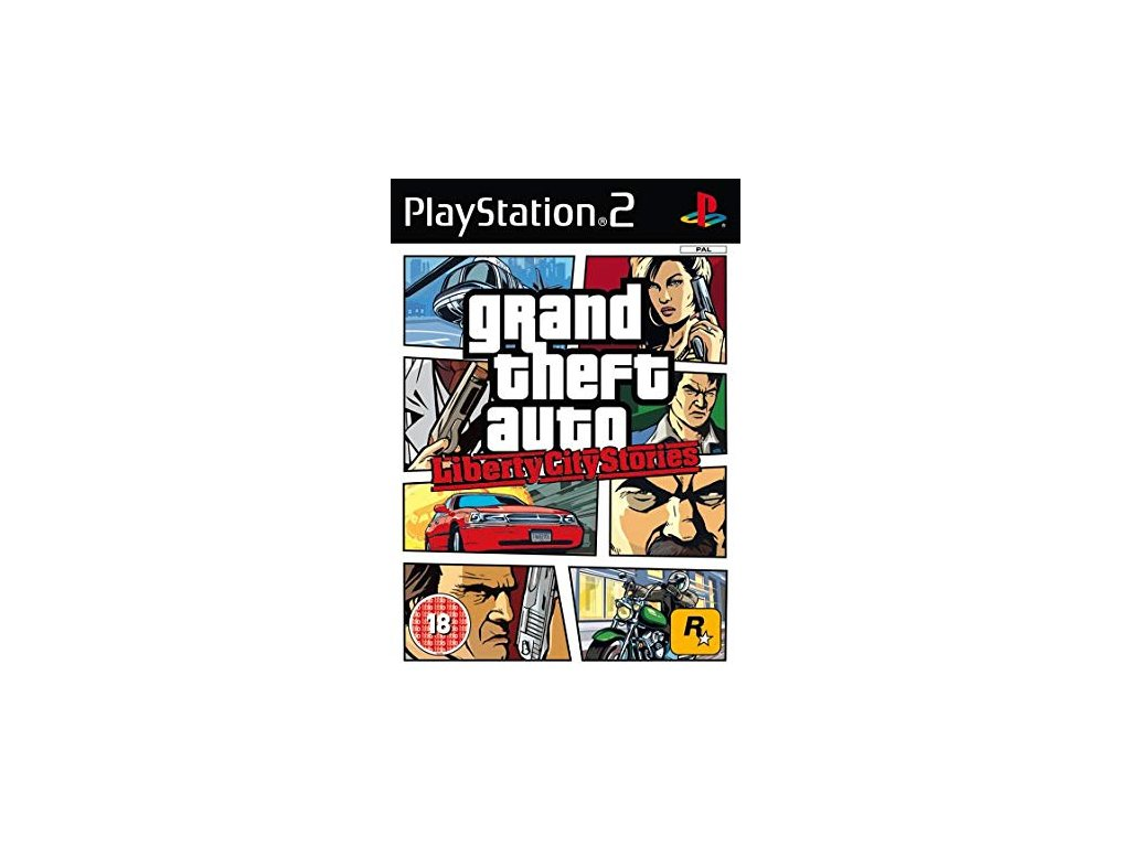 PS2 Grand Theft Auto Liberty City Stories