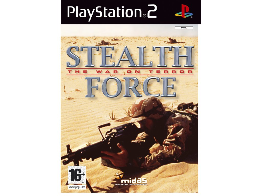StealthForceTheWarOnTerror PS2Box