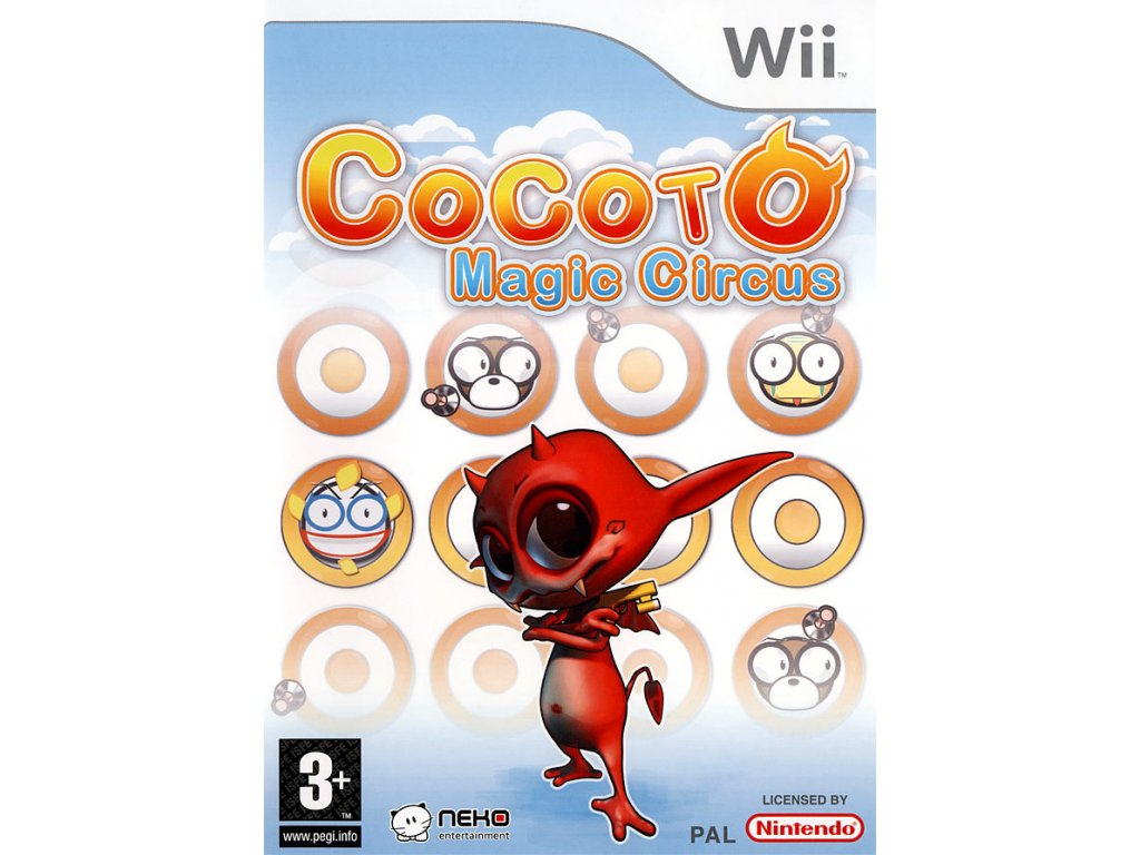 Wii Cocoto Magic Circus