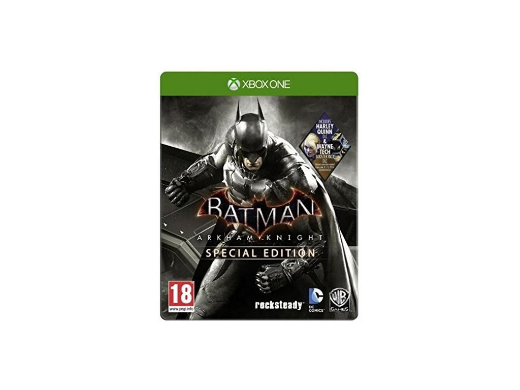 XONE Batman Arkham Knight Special Edition Steelbook