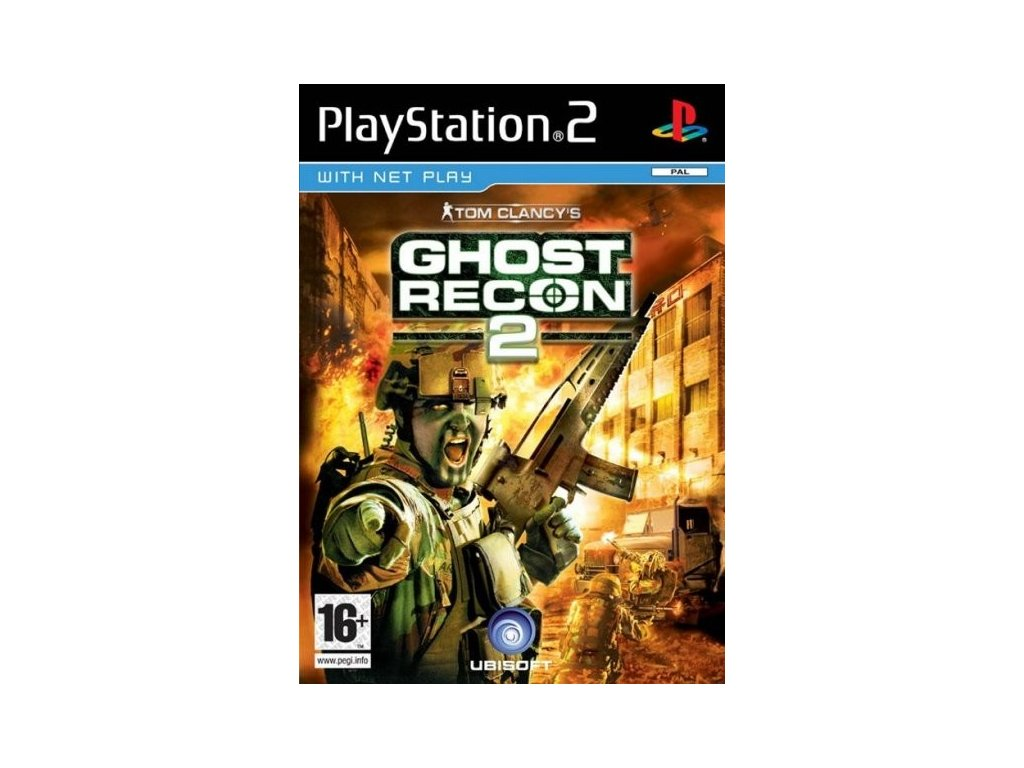 PS2 Tom Clancys Ghost Recon 2