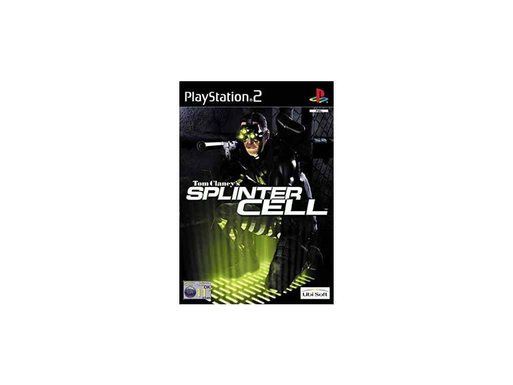 PS2 Tom Clancys Splinter Cell