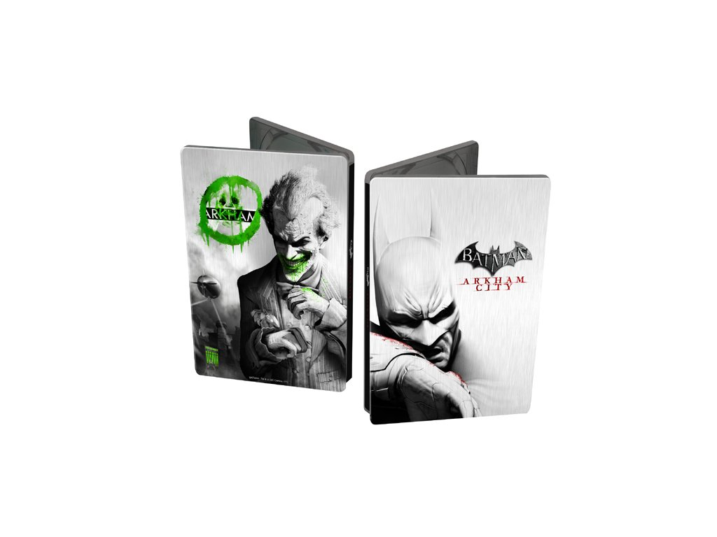 X360 Batman Arkham City Joker Steelbook Edition