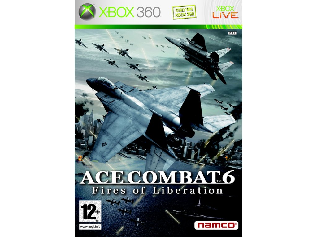 X360 Ace Combat 6 Fires of Liberation