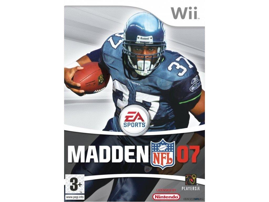 Wii Madden NFL 07