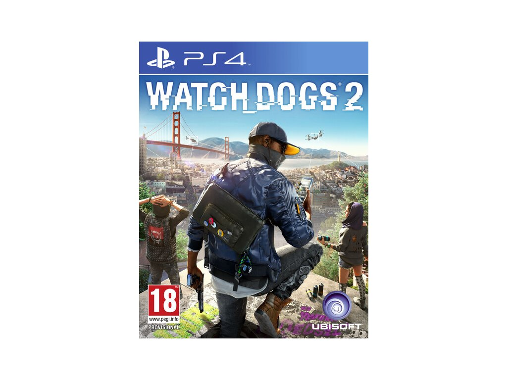 watch dogs 2 ps4 ps4 box