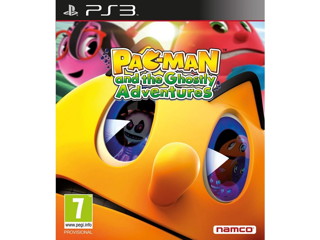 PS3 Pac-Man and The Ghostly Adventures