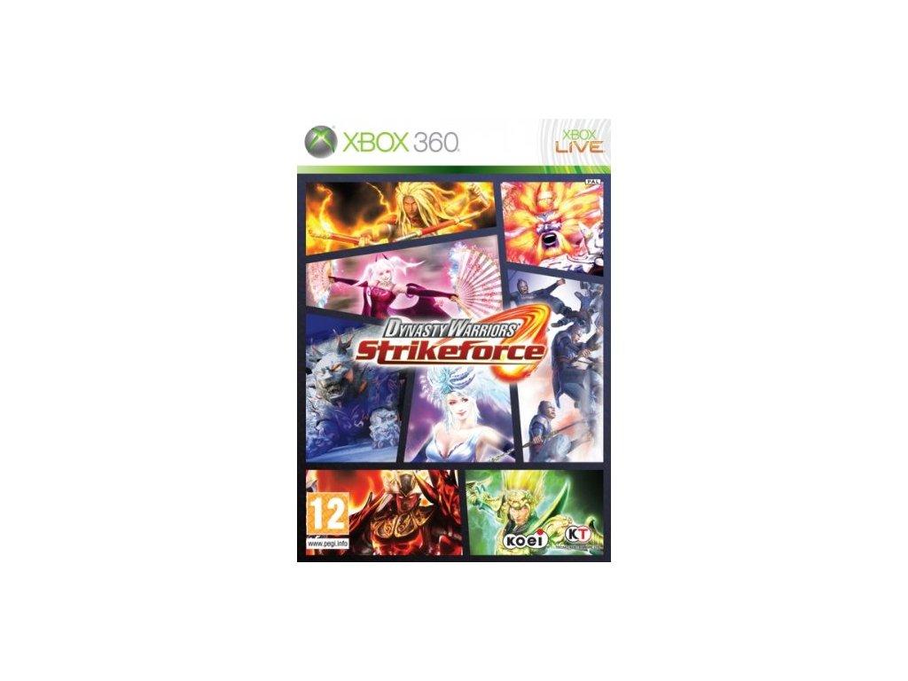 X360 Dynasty Warriors Strikeforce