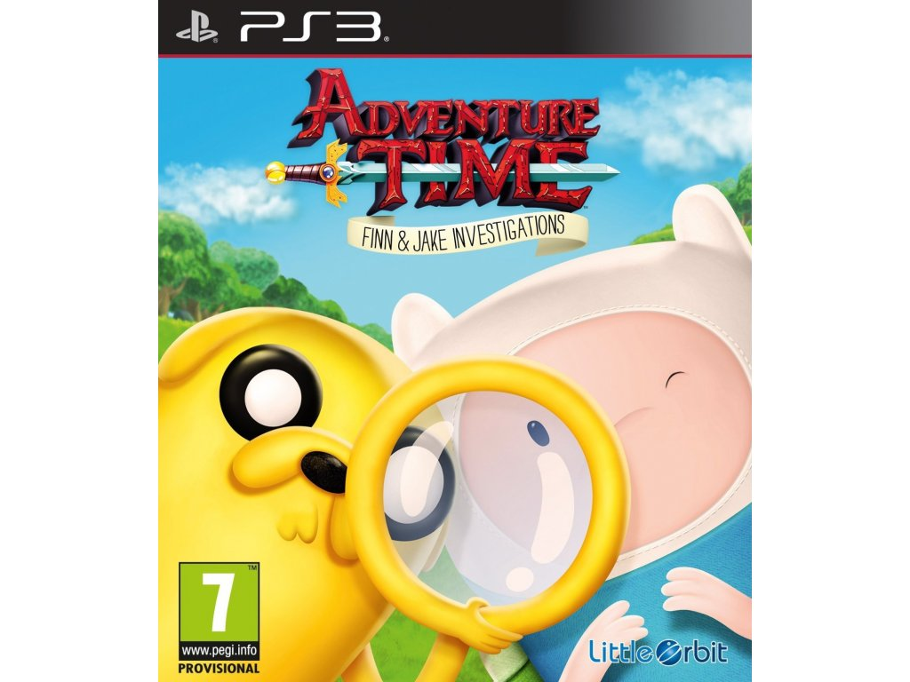 PS3 Adventure Time Finn And Jake Investigation