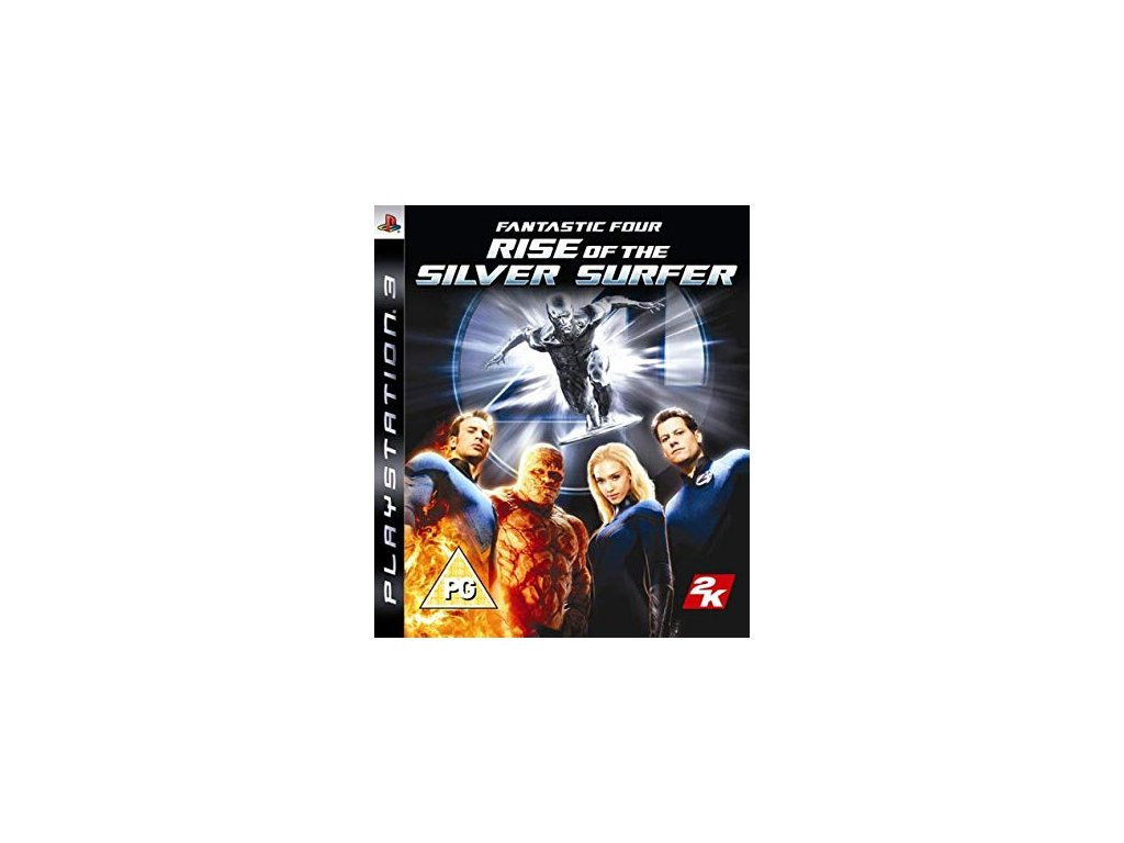 PS3 Fantastic Four Rise of the Silver Surfer
