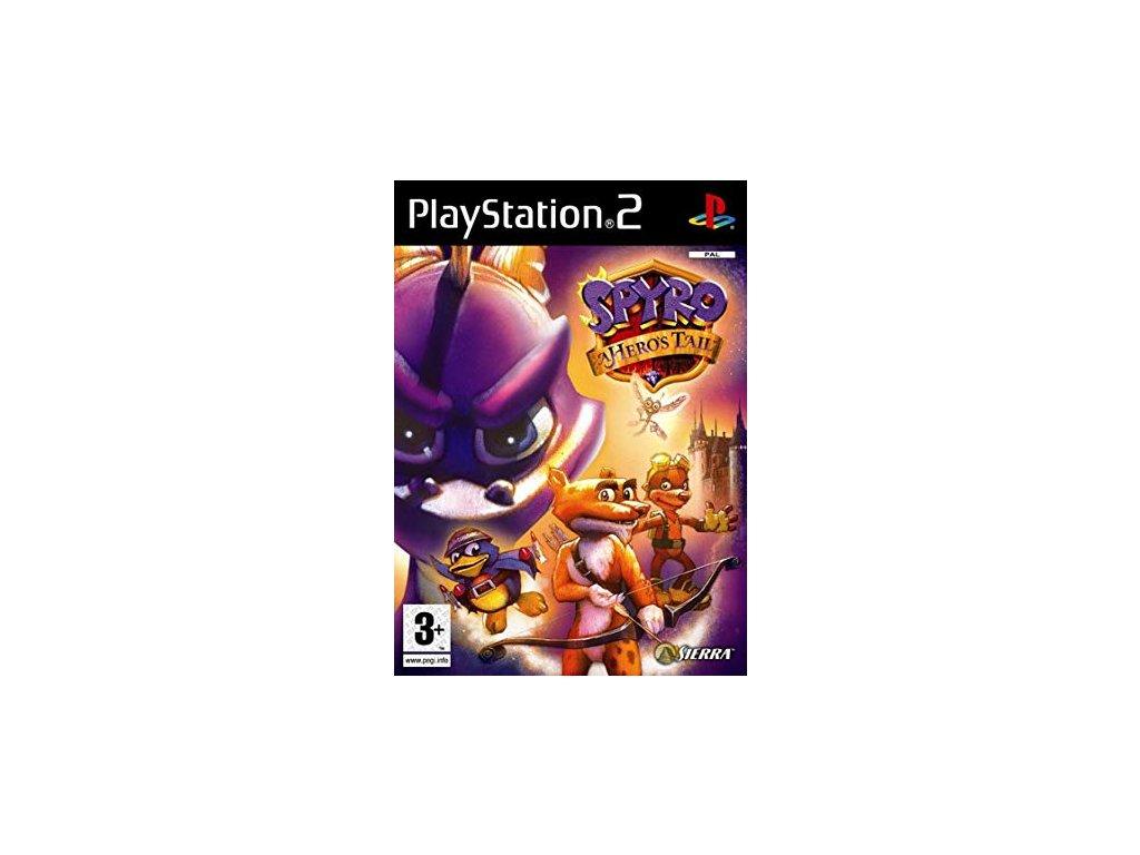 PS2 Spyro A Heros Tail