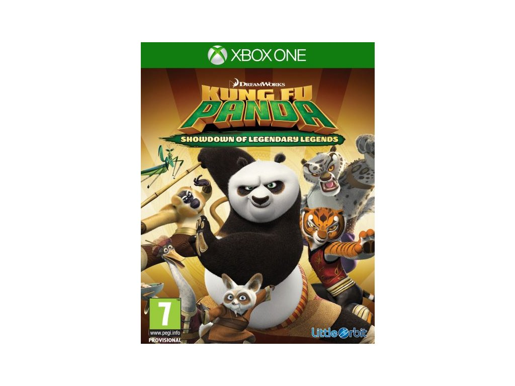 kung fu panda showdown of legendary legends xone