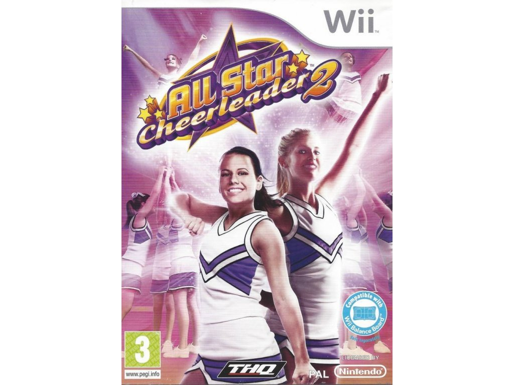 Wii All Star Cheerleader 2