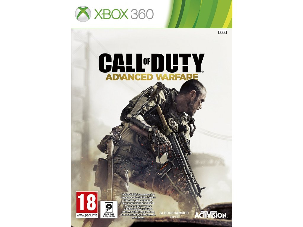 X360 Call of Duty Advanced Warfare