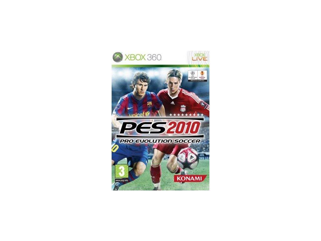 X360 Pro Evolution Soccer 2010