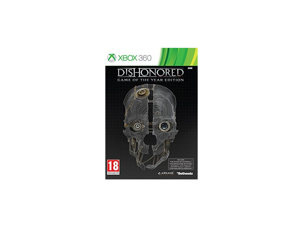X360 Dishonored Game of the Year Edition CZ
