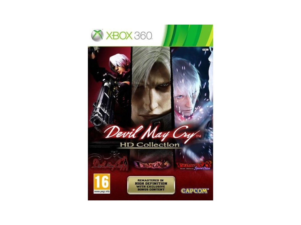 X360 Devil May Cry HD Collection