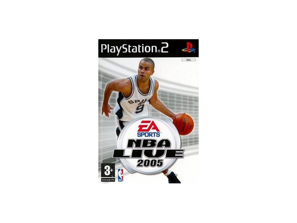 PS2 NBA Live 2005