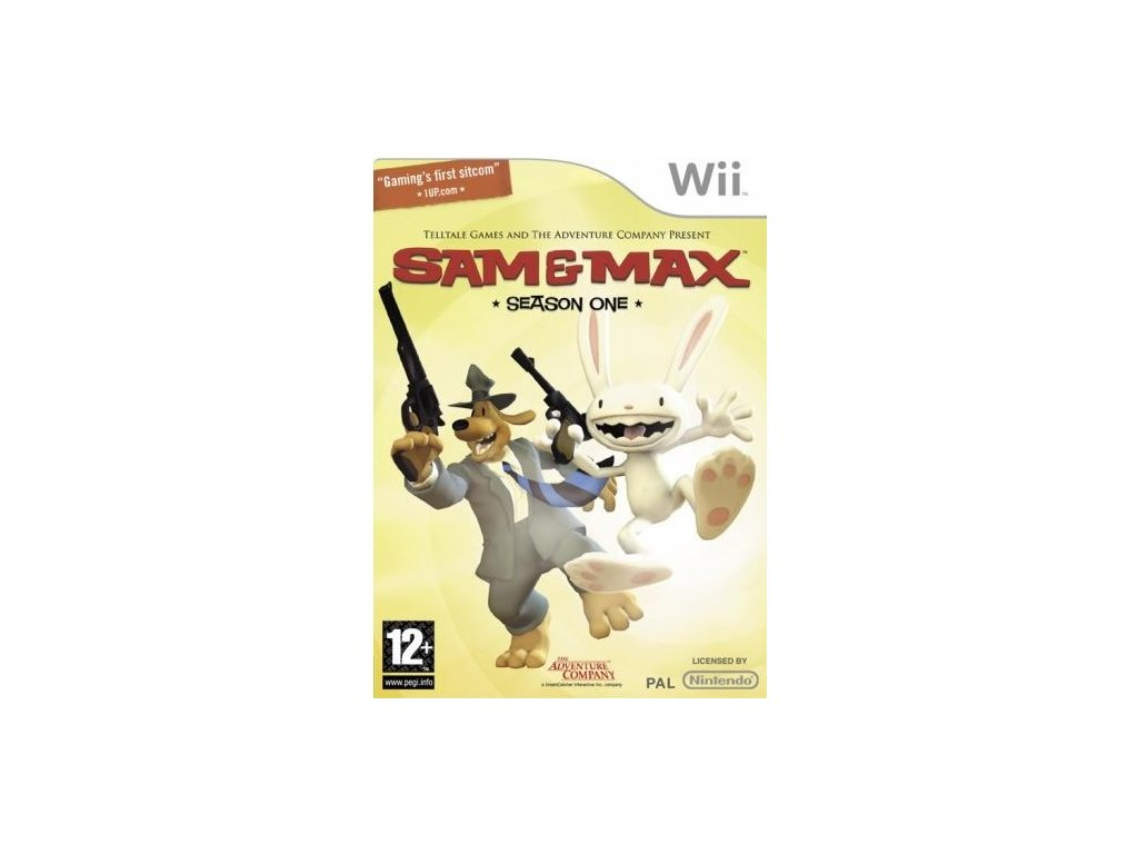 Wii Sam and Max Season One