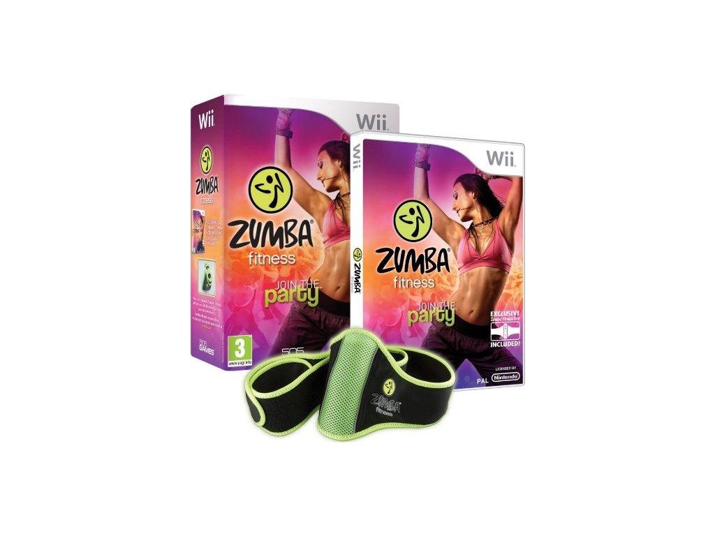Wii Zumba Fitness + Zumba Fitness Belt